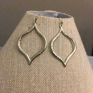 Cookie Lee golden earrings
